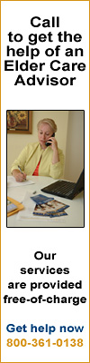 Call to get the help of an Elder Care Advisor Our services are provided free-of-charge. Get help now 800-361-0138