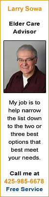 My job is to help narrow the list down to the two or three best options that best meet your needs. 